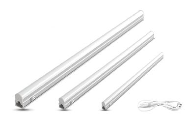 Светодиодный светильник линейный накладной LEDEX T5, 6W, 6500К, 30см