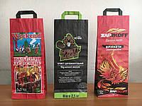 Бумажные пакеты с ручками для древесного угля