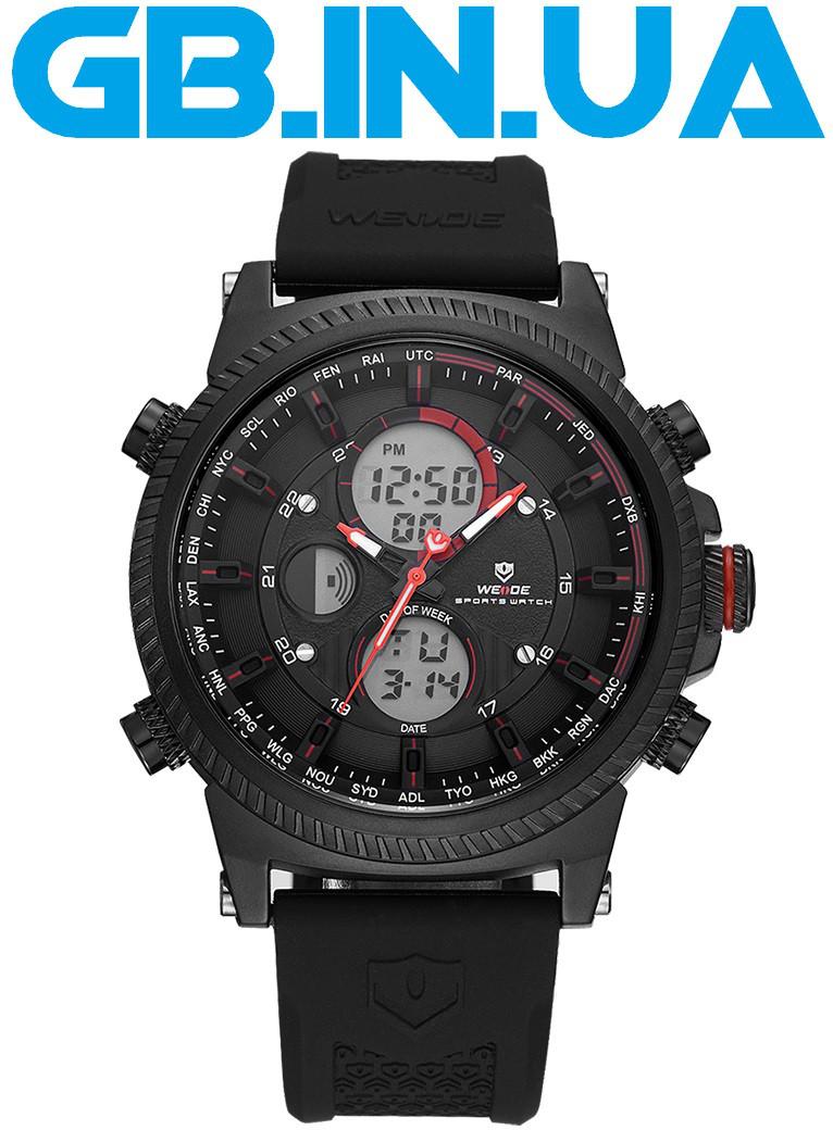 Мужские Часы Weide Movement Black Red 1 ГОД ГАРАНТИИ! — в Категории ... 4465d7a2bee