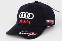 Кепка с автомобильным логотипом Audi темно-синий
