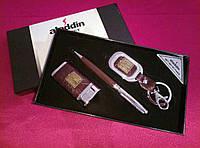 Подарочный набор Ручка+Зажигалка+Брелок Украинский LX029