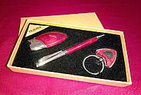 Подарочный набор Ручка+Брелок для ключей+Зажигалка 023 NOBILIS