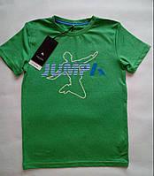 Спортивная детская футболка PLAYTECH для мальчика 7-8 лет, р. 122-128 ТМ Name it Зеленый 13115328