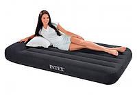 Односпальная надувная кровать Intex 66779 (99Х191Х23 СМ.), встроенный электронасос
