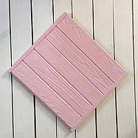 Деревянный фотофон розовый
