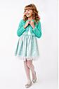 Нарядный костюм для девочки с болеро Размеры 122- 140, фото 2