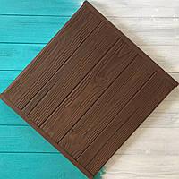 Деревянный фотофон коричневый
