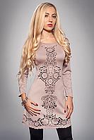 Платье женское модель №345-7,р.48,50 капучино