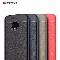 TPU чехол накладка Tiger для Motorola Moto G6 (4 цвета)