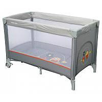 Манеж-кровать Baby Mix Горобчики HR-8052  в ассортименте