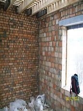 Кухня с крашеным МДФ фасадом и встроенным холодильником , фото 3