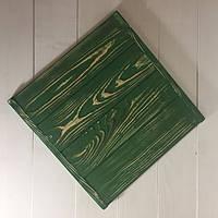 Деревянный фотофон зеленый