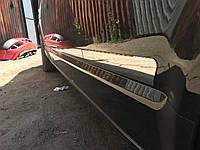 Фольксваген Т5 Молдинги дверные Carmos на короткую базу
