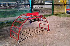 Металлическая лестница - мостик , фото 2