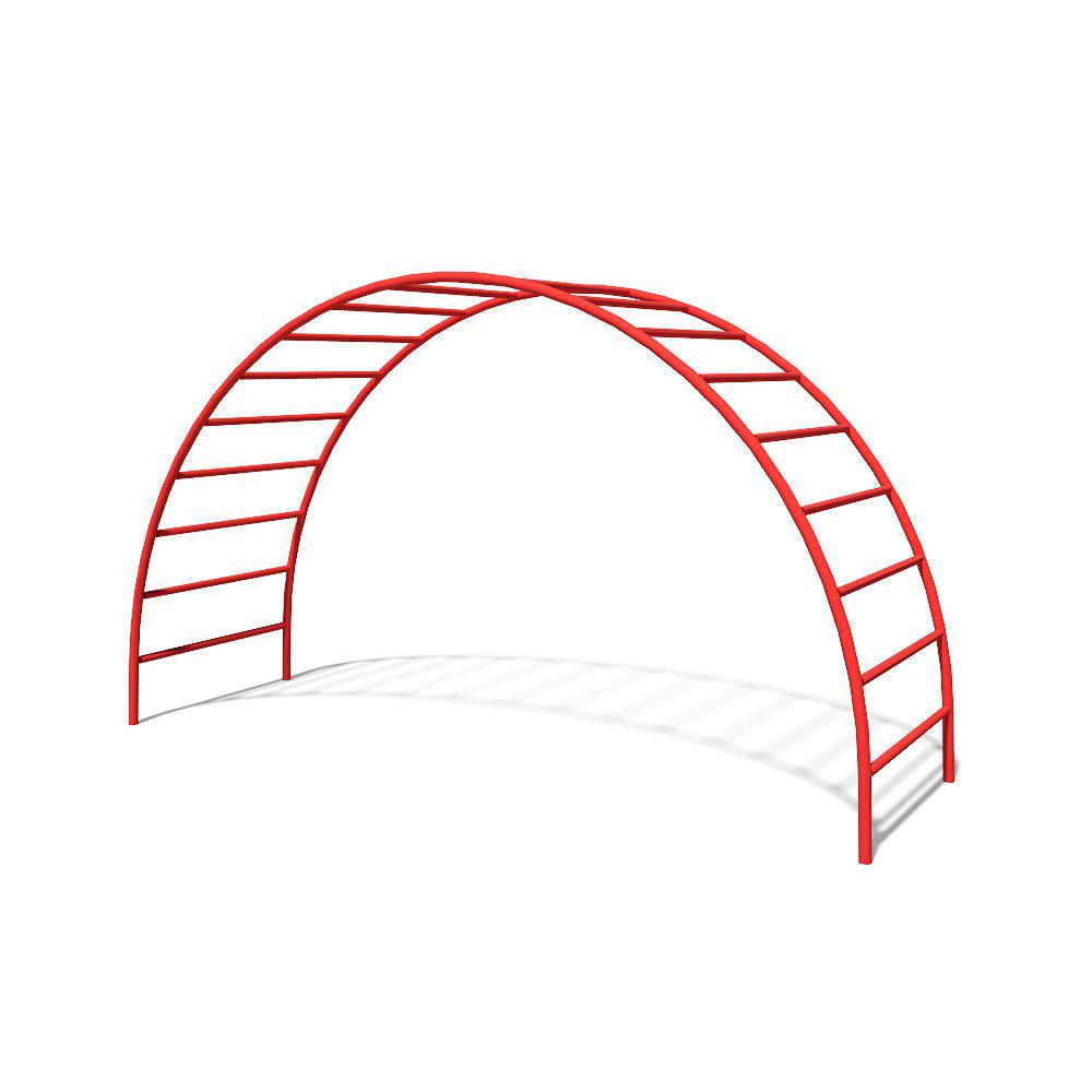 Металлическая лестница - мостик