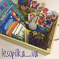 Деревянный ящик для книг/игрушек