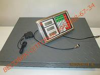 Весы Витек TCS-102C 6v 300кг 450х600, фото 1