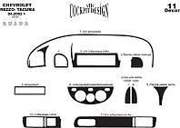 Chevrolet Tacuma накладки на панель цвет титан