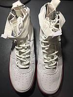 Nike SF Air Force 1 Utility Mid White/Gum (Брак)