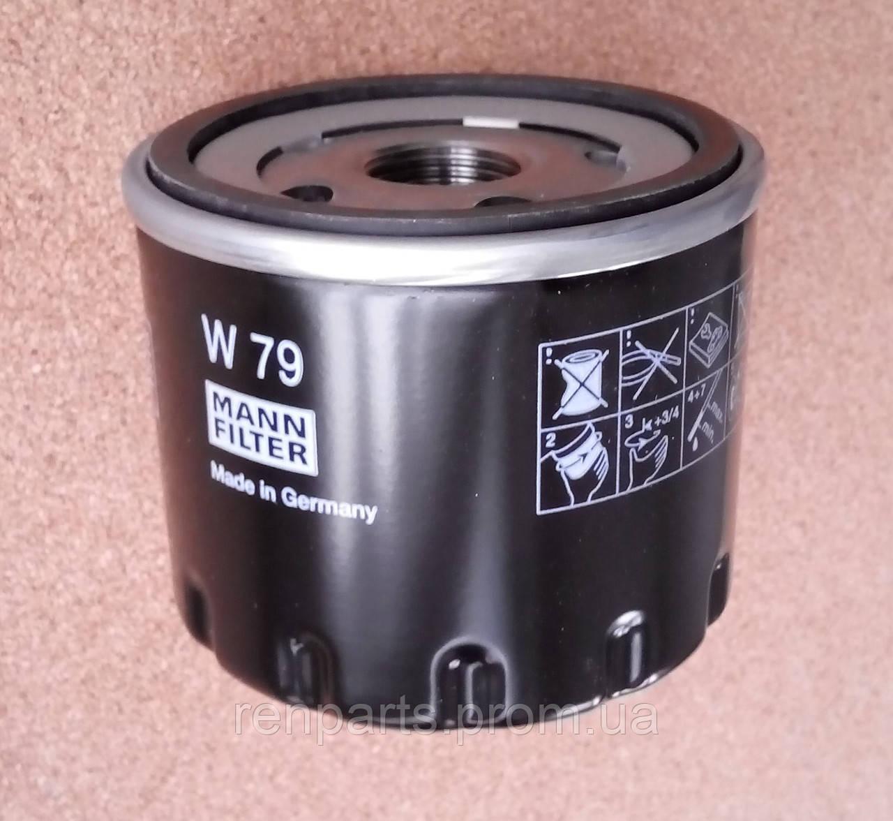 фильтр масляный Renault Duster рено дастер 15dci K9k Mann