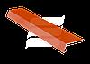 Планка примикань FLEX Line алюміній 80мм/2м каштан RAL 8015 ящ 20 шт