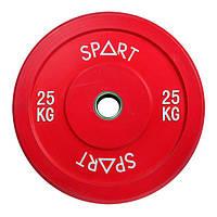 Бамперный диск Spart цветной 25 кг