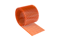 Лента свеса коньковая вентиляционная Roll Standart 310 мм/5м кирпичная RAL 8004 ящ24 шт