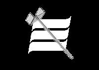 Держатель конькового бруса тип N50 ммящ.100 шт