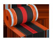 Вентиляционная лента конька Roll Standart 310мм/5м кирпичный RAL 8004 ящ 4 рул.