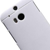 Чехол Nillkin Matte для HTC New One 2 / M8 (+ пленка) Белый