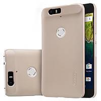 Чехол Nillkin Matte для Huawei Nexus 6P (+ пленка) Золотой