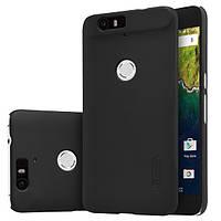 Чехол Nillkin Matte для Huawei Nexus 6P (+ пленка) Черный