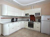 матовая белая кухня фото 31