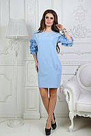 Платье с карманами, на рукавах украшено рюшами / 3 цвета арт 4036-553