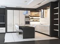 кухня с крашенными фасадами фото 32