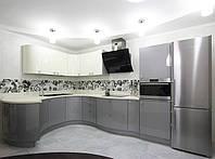 кухня металлик модерн фото 33