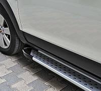 Боковой обвес для Форд Транзит (алюминий) Х5 короткая база