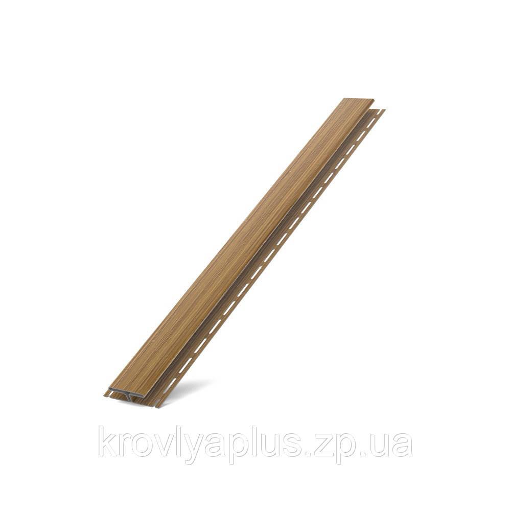 Соффит Планки  BRYZA (БРИЗА)  H - профиль золотой орех