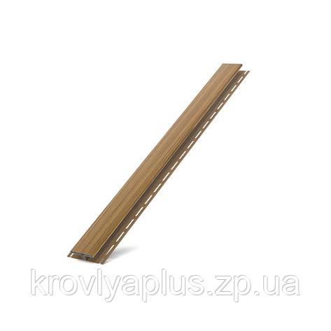 Соффит Планки  BRYZA (БРИЗА)  H - профиль золотой орех , фото 2