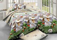 Полуторное постельное белье полиСАТИН 3D (поликоттон) 85861