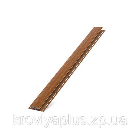 Соффит Планки  BRYZA (БРИЗА)  H - профиль золотой дуб, фото 2