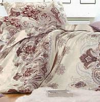 Полуторное постельное белье с простыней на резинке 90/200/25, Авантаж, Сатин