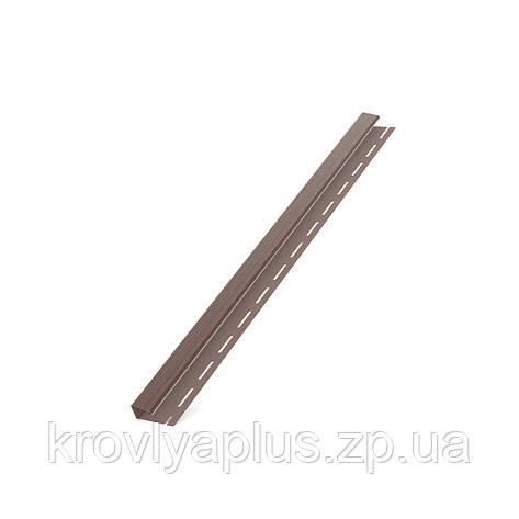 Соффит Планки  BRYZA (БРИЗА)  Джей профиль (J) коричневый , фото 2