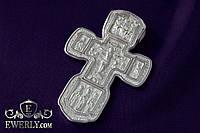 Православный крест из серебра на шею (мужской). (24 г)