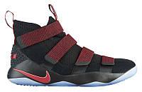 Кроссовки/Кеды (Оригинал) Nike LeBron Soldier 11 Black/Gym Red/Stardust