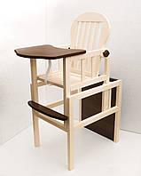 ЕКО дерево!Детский стульчик для кормления,трансформер,TM Deson
