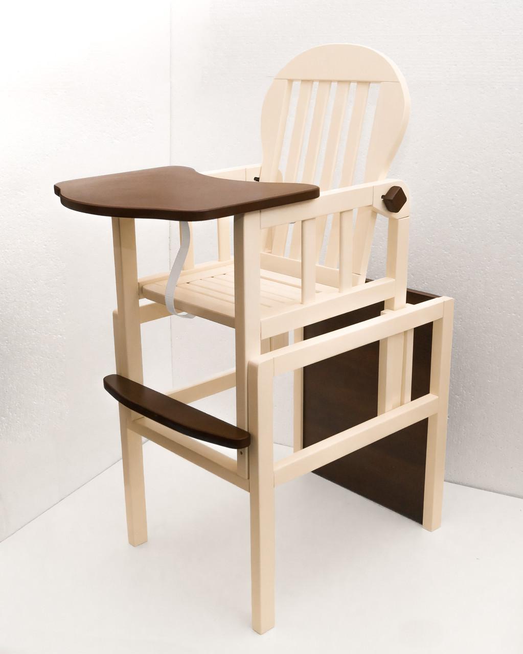 еко дереводетский стульчик для кормлениятрансформерtm Deson цена