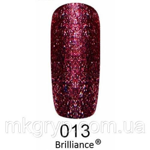 Гель-лак F.O.X. gold Brilliance № 013, кармин