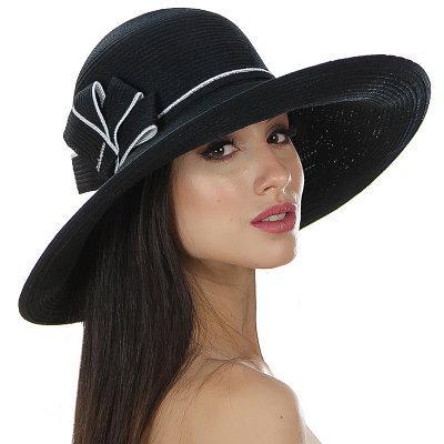 Шляпы Del Mare модель 134 черный