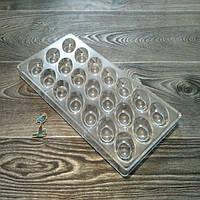 Поликарбонатная форма для шоколадных конфет №4